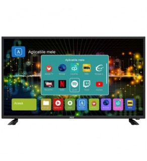 Televizor led Nei 40NE6505, smart, 4K Ultra HD, 101 cm, DVB-T2/C, negru