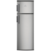 Frigider cu 2 usi Electrolux EJ2801AOX2, A+, 265 L, Inaltime: 159 cm, Argintiu + Usa Inox Antiamprenta