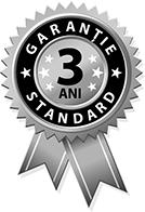 3 ani garantie standard